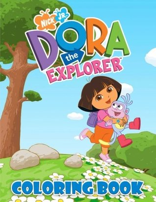 Dora The Explorer Coloring Book