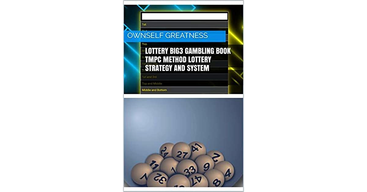 Lottery Big3 Gambling Book TMPC Method Lottery Strategy And