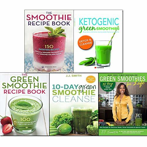 Ketogenic Green Smoothies For Life 10 Day Green Smoothie Recipe Book 5 Books Collection Set By J J Smith