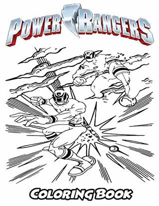 Power Rangers Coloring Book Coloring Book For Kids And Adults Activity Book With Fun Easy And Relaxing Coloring Pages By Alexa Ivazewa