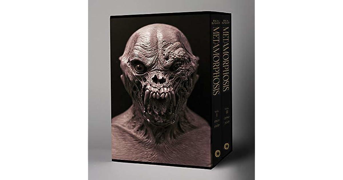 Vol 2: 1990 2019 Rick Baker: Metamorphosis: Vol 1: 1950 1989