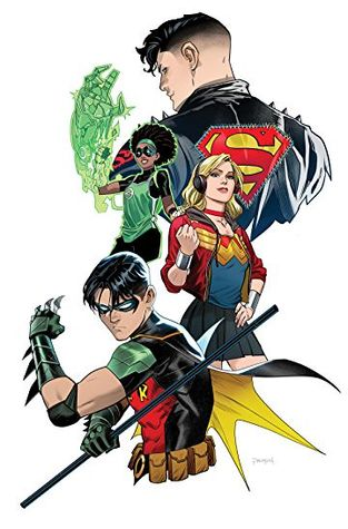 Young Justice (2019-) #4 by Brian Michael Bendis