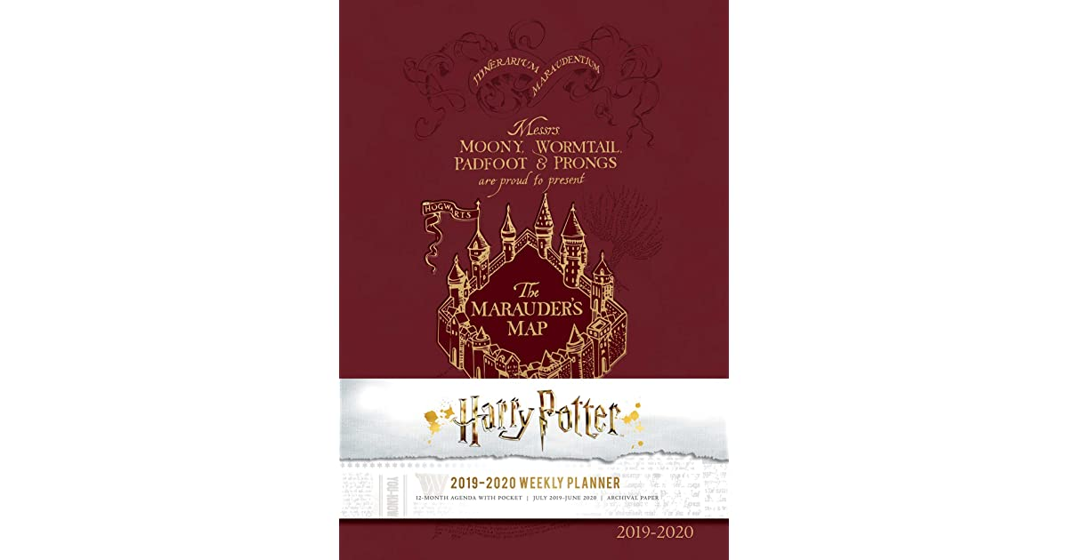 Harry Potter 2019 Weekly Planner