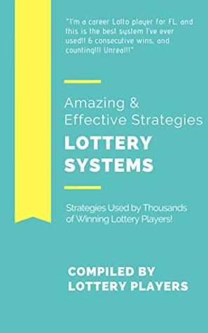 Lottery Master Workbook & Guide: Amazing Strategies for Cash