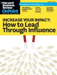 Harvard Business Review OnPoint Spring 2017