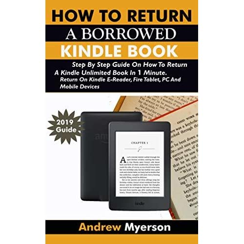 HOW TO RETURN A BORROWED KINDLE BOOK: Step By Step Guide On
