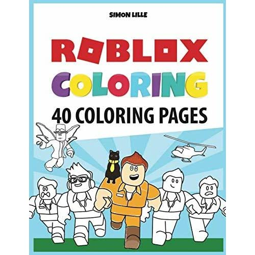 Roblox Coloring 40 Pages With Roblox Illustrations To Color By