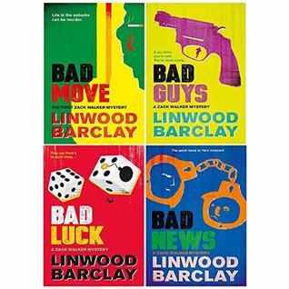 Zack Walker Mystery Series 4 Books Collection Set (Bad Move,Bad Guys,Bad Luck,Bad News)