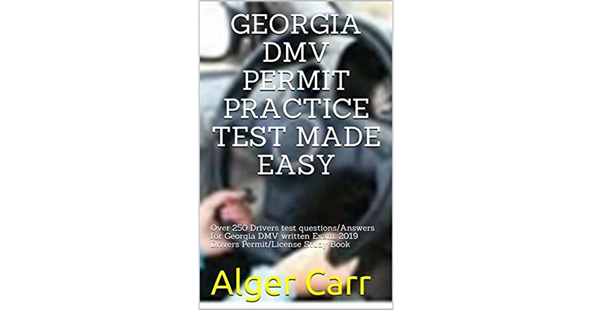 drivers permit test book georgia