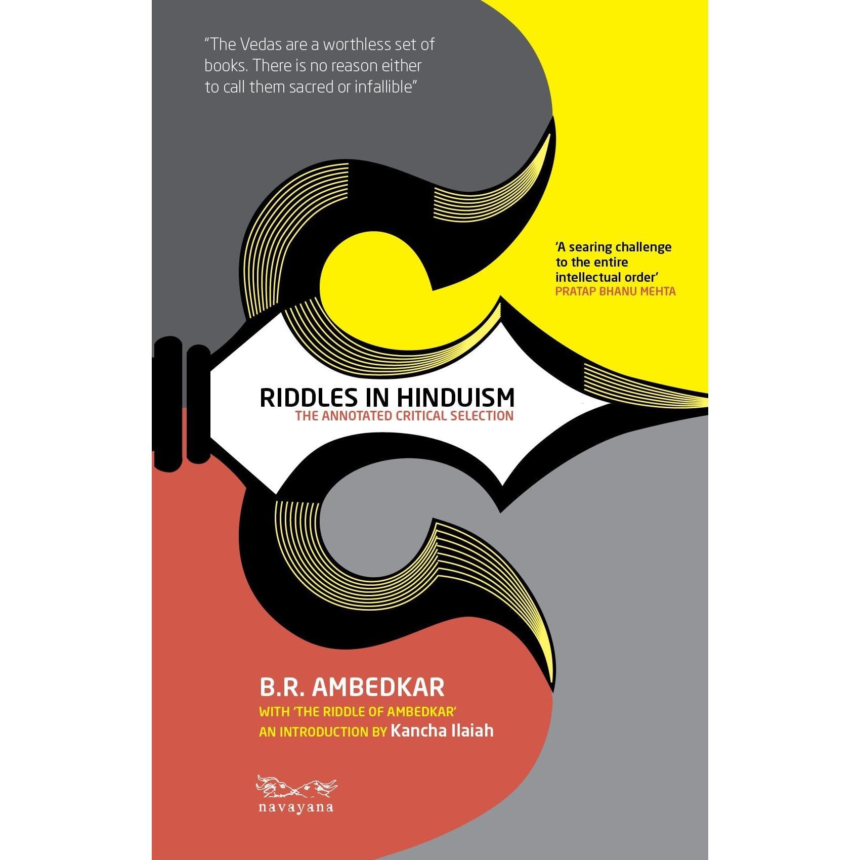 Riddles in Hinduism by B R  Ambedkar