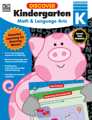 Discover Kindergarten: Math and Language Arts