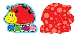 Ladybugs Mini Cut-Outs