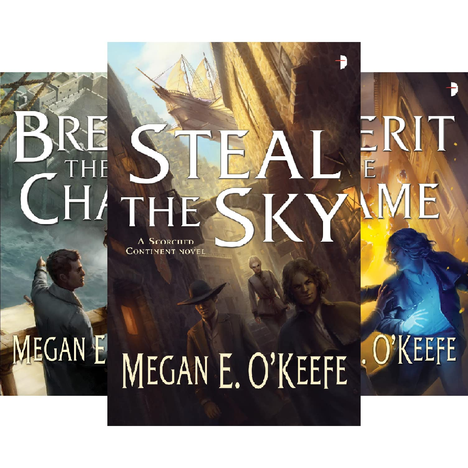 The Scorched Continent (3 Book Series) by Megan E. O'Keefe