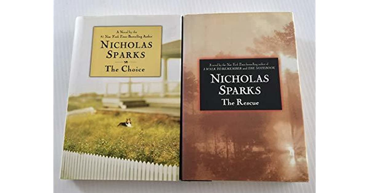 Nicholas Sparks The Choice Book