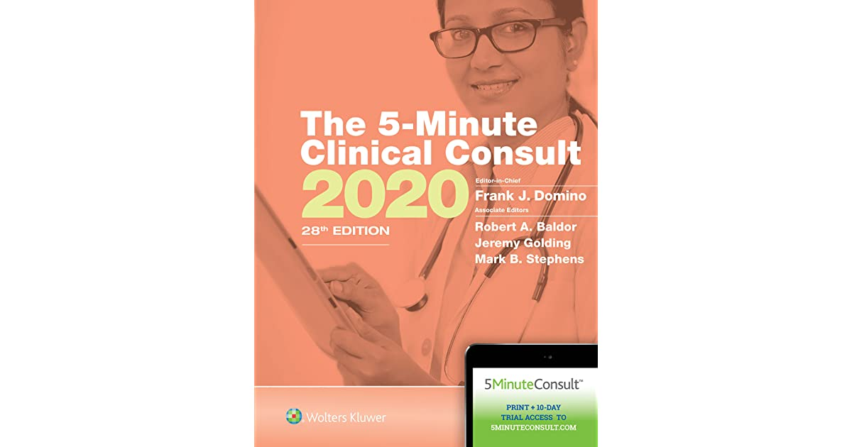 5 Minute Clinical Consult Book
