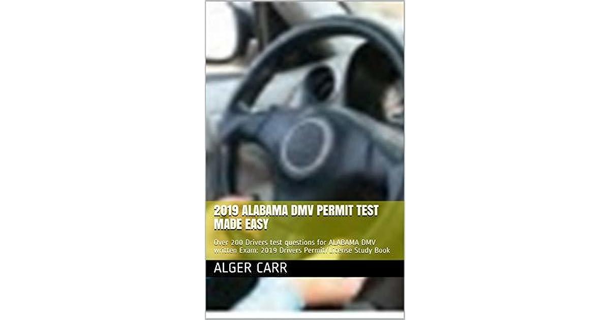 schedule drivers permit test alabama