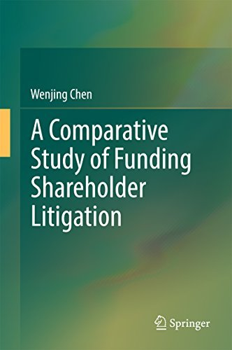 A Comparative Study of Funding Shareholder Litigation