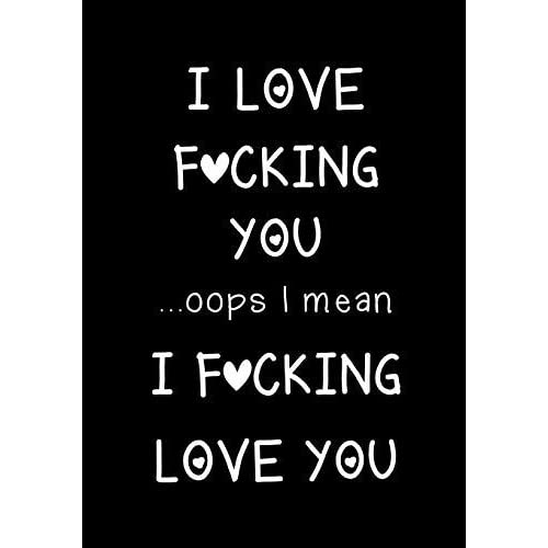 I Fucking Love You Accent Pillow  Funny gift for her  Funny Gift for him  Cute Anniversary Birthday Present I mean I Love Fucking You