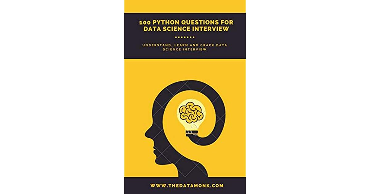 100 Python Questions to crack Data Science/Analyst Interview