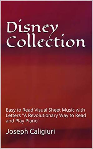 Disney Collection Easy To Read Visual Sheet Music With