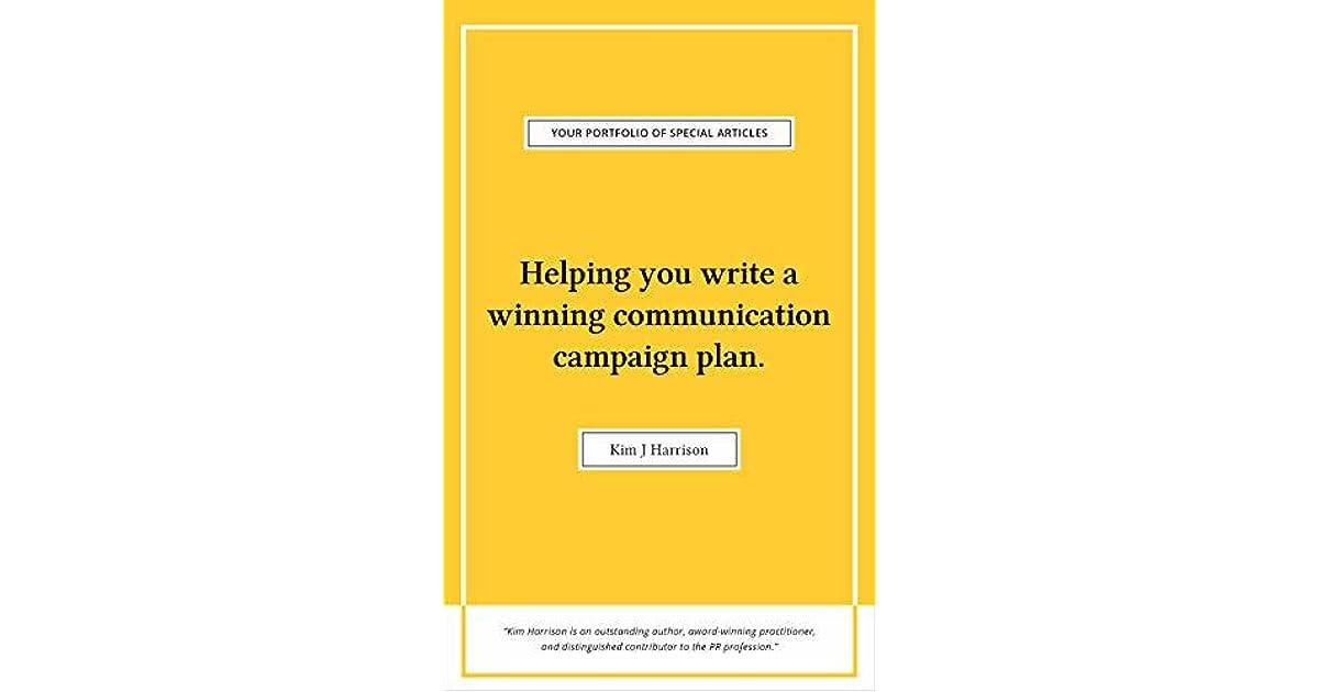 Helping You Write a Winning Communication Plan by Kim J