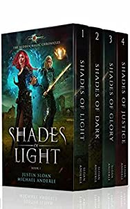 Shades of Light / Shades of Dark / Shades of Glory / Shades of Justice (The Hidden Magic Chronicles #1-4)