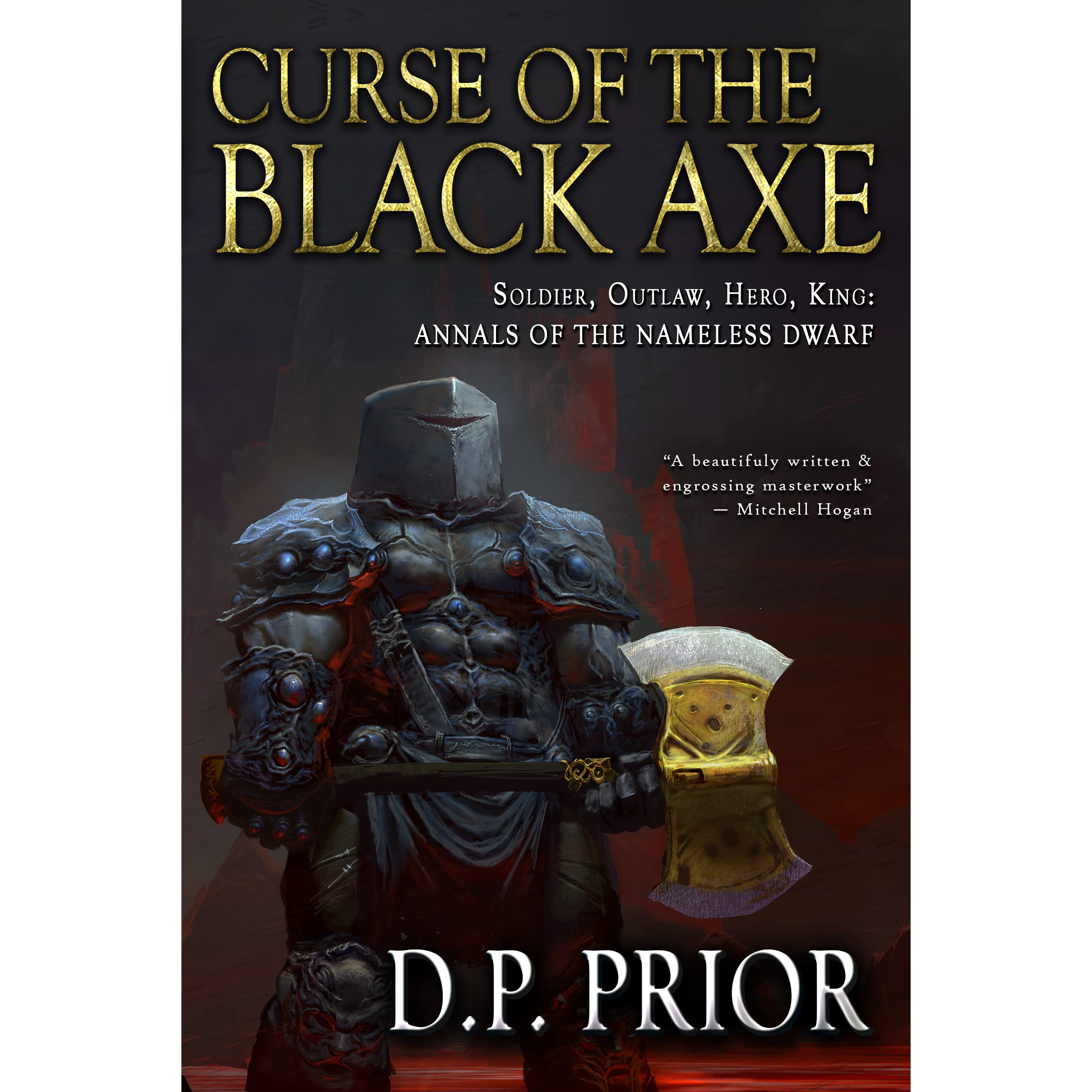 Curse of the Black Axe by D P  Prior