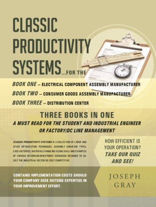 Classic Productivity Systems: Consumer Goods Assembly Manufacturer, Electrical Component Assembly Manufacturer, Distribution Center