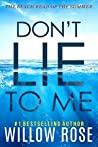Don't Lie to Me (Eva Rae Thomas Mystery, #1)