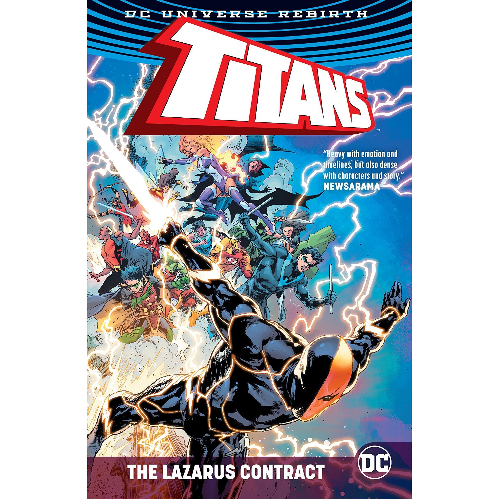 Titans: The Lazarus Contract by Christopher J  Priest