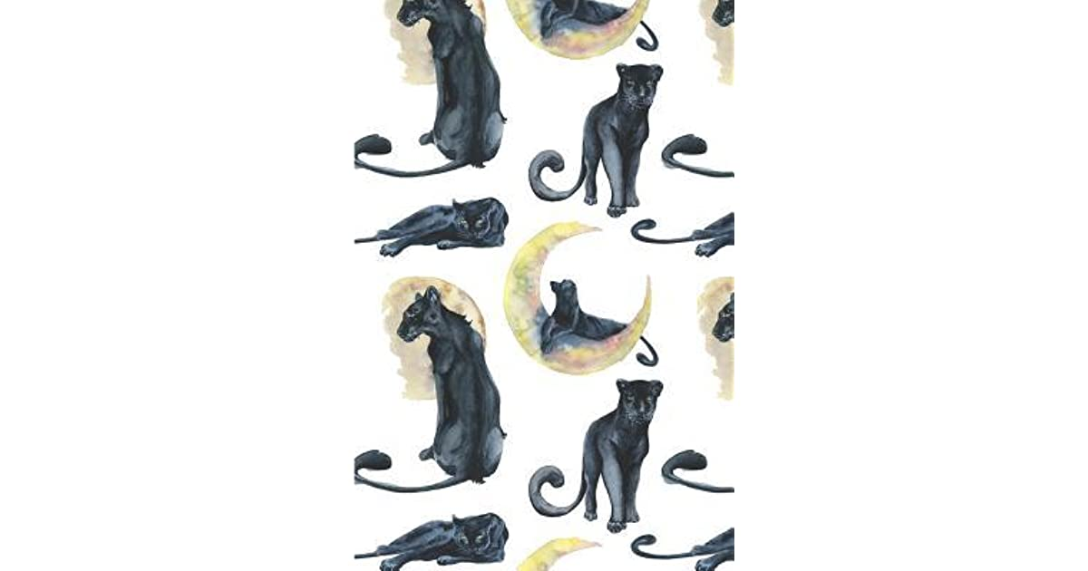 Black Panther Notebook Gift For Cat Lovers