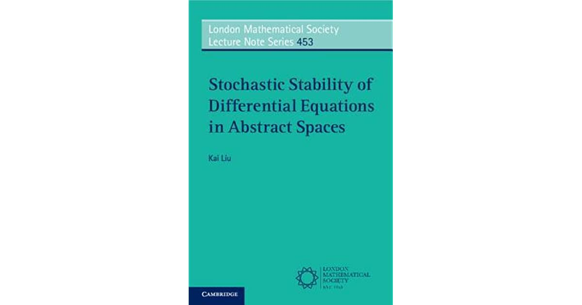 Stochastic Stability of Differential Equations in Abstract