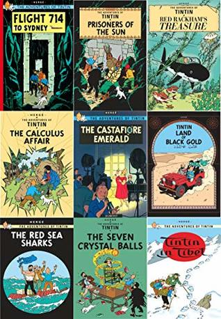The Adventure of Tin Tin Series 1 (9 Books Collection Set : Calculus