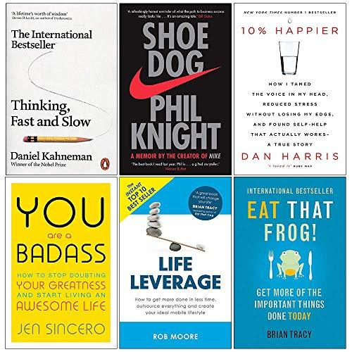 10. THINKING, FAST AND SLOW by Daniel Kahneman