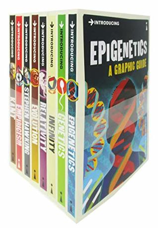Introducing A Graphic Guide (Series 6) 8 Books Collection Set (Epigenetics,Genetics,Infinity,Relativity,Evolution, Stephen Hawking...) Books for Childrens
