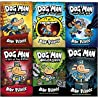 Dav Pilkey Adventures of Dog Man Series 1-6 Books Collection Set (Dog Man, Unleashed, A Tale of Two Kitties, Dog Man and Cat Kid [Hardcover], Lord of the Fleas [Hardcover], Brawl of the Wild [Hardcove