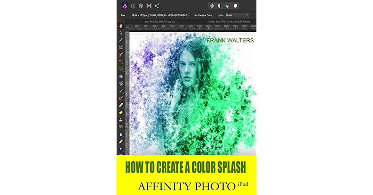 How to Create a Color Splash Effect: Affinity Photo for iPad by