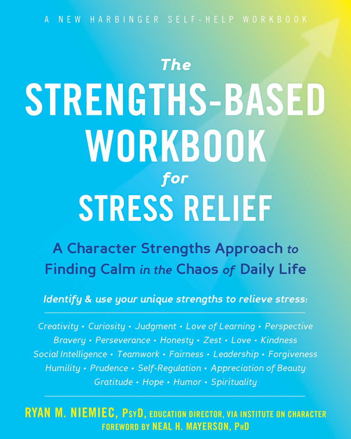 the strength based workbook for stress relief