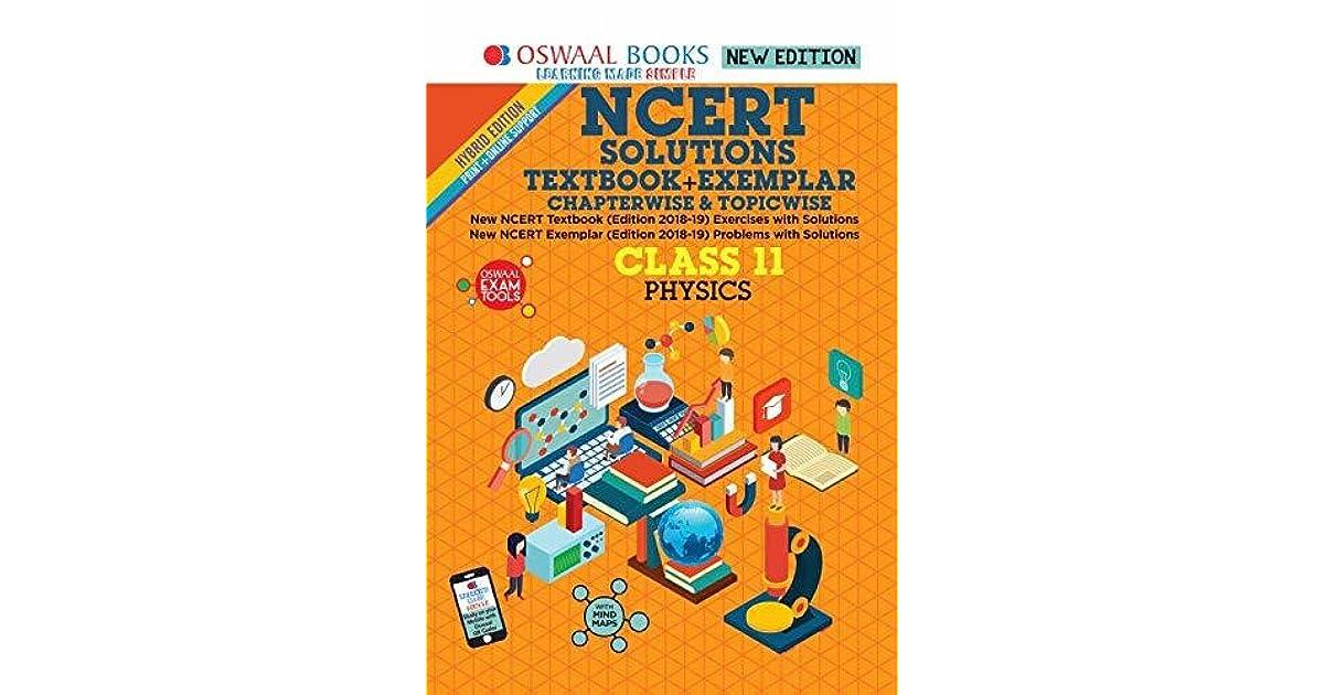 Oswaal NCERT Solutions Textbook + Exemplar Class 11 Physics