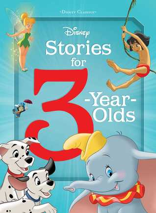 Disney Stories for 3-Year-Olds by Editors of Studio Fun Inter...