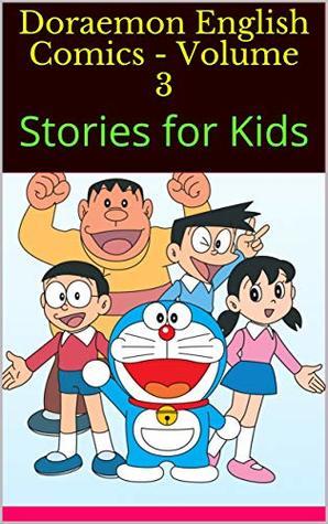 doraemon english comics volume stories for kids by beeland
