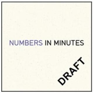 Numbers in Minutes by Julia Collins