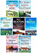 M.C. Beaton Hamish Macbeth Murder Mystery Series 3 Collection 7 Books Set