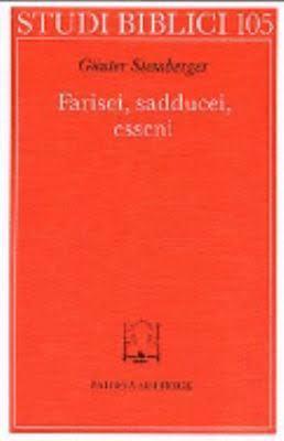 Farisei, sadducei, esseni by Günter Stemberger