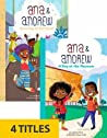 Ana & Andrew (Set of 4)