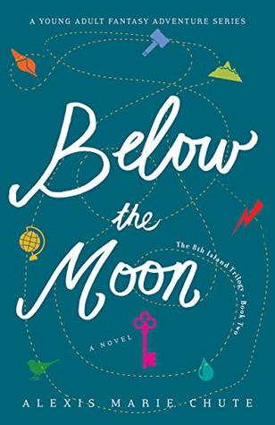 Below the Moon (The 8th Island Trilogy, #2)