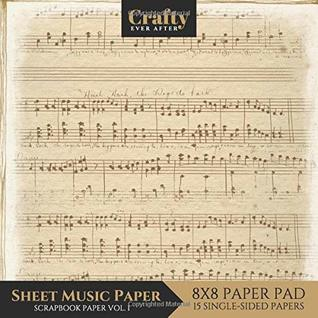 photograph regarding Printable Sheet Music for Crafts titled Sheet Audio Paper Sbook Paper: Typical Tunes Print