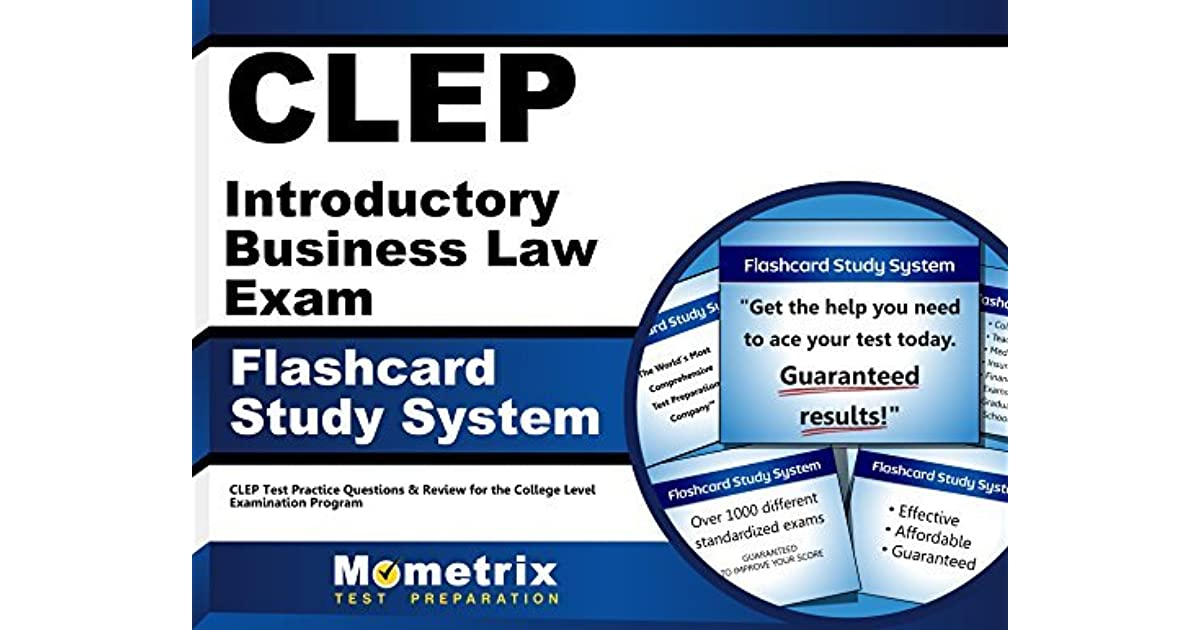 CLEP Introductory Business Law Exam Flashcard Study System