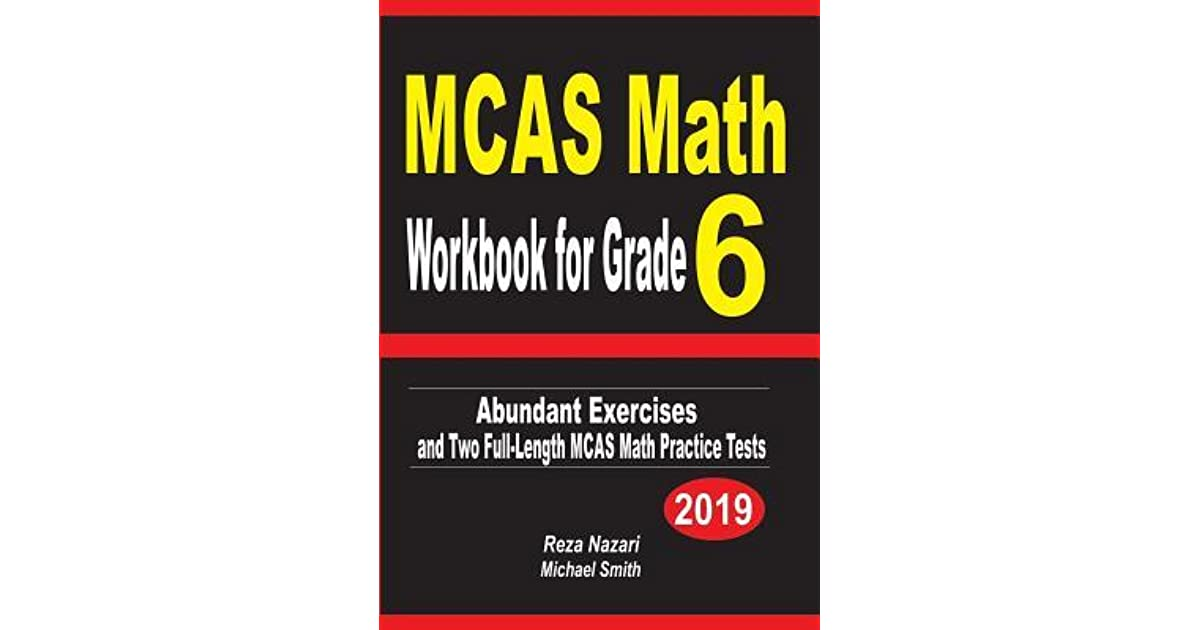 McAs Math Workbook For Grade 6 Abundant Exercises And Two