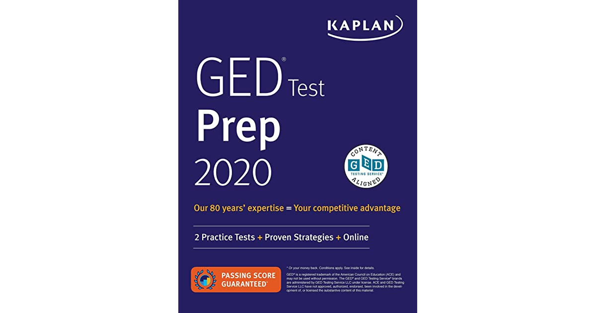 GED Test Prep 2020: 2 Practice Tests + Proven Strategies by